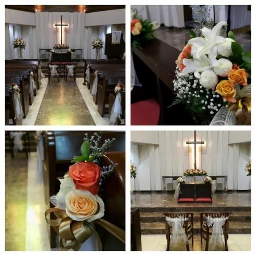 Paket Dekorasi Gereja Jakarta Tangerang Toko Bunga