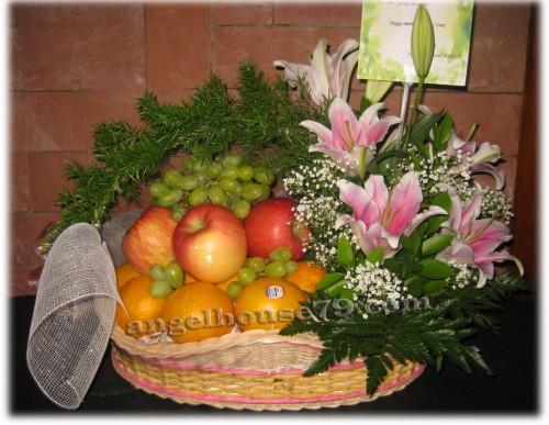 Pesan Rangkaian Bunga Buah Delivery Alam Sutera Puri Indah Permata