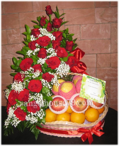 Rangkaian Bunga Dan Buah Toko Bunga Florist Jakarta Tangerang