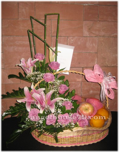 Rangkaian Bunga Dan Buah Lekas Sembuh Toko Bunga Florist Jakarta